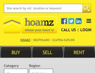 hoamz.co.nz screenshot