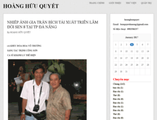 hoanghuuquyet.vnweblogs.com screenshot