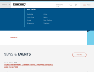 hobartsalesandservice.com screenshot