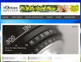 hobbiesadviser.com screenshot
