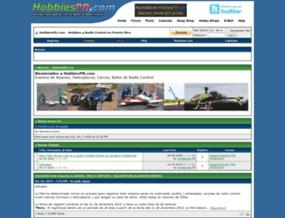 hobbiespr.com screenshot