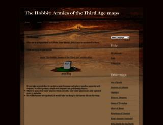 hobbitarmies.weezeewig.com screenshot