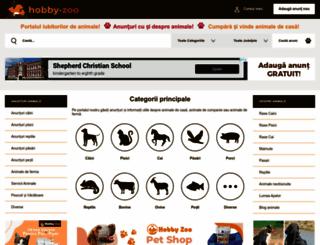 hobby-zoo.ro screenshot
