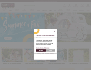 hobbycraft.co.uk screenshot