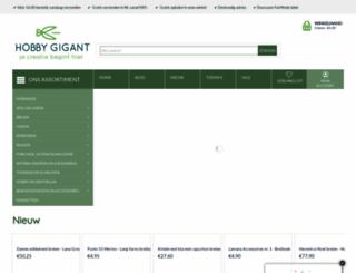 hobbygigant.nl screenshot