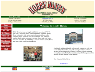 hobbyhaven.com screenshot