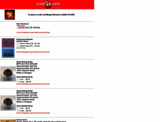 hobbyhorse.com screenshot