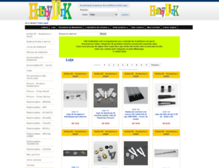 hobbylink.com.br screenshot