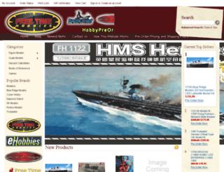 hobbypreorders.com screenshot