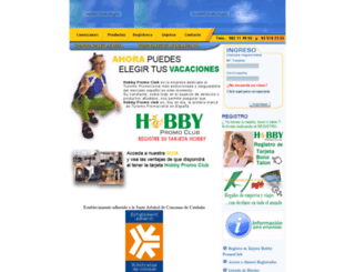 hobbypromoclub.com screenshot