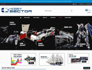 hobbysector.pt screenshot