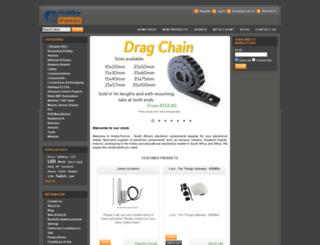 hobbytronics.co.za screenshot