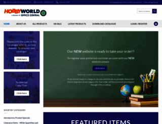 hobbyworld123.com screenshot