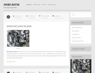 hobiasyik.wordpress.com screenshot