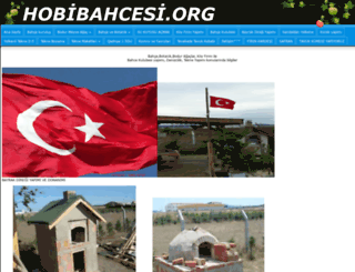hobibahcesi.org screenshot