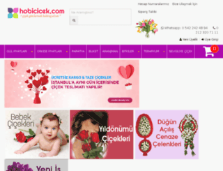 hobicicek.com screenshot