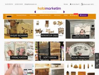 hobimarketim.com screenshot