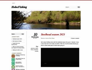 hobofishing.com screenshot