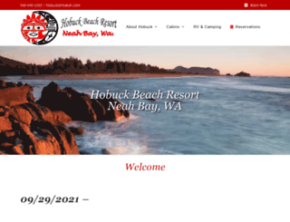 hobuckbeachresort.com screenshot