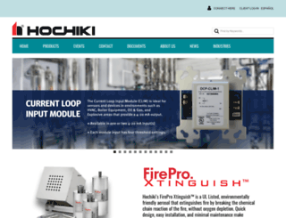hochiki.com screenshot