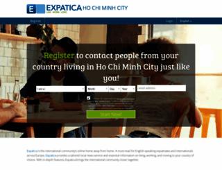 hochiminhcitydating.expatica.com screenshot