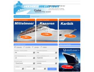 hochseekreuzfahrt.net screenshot