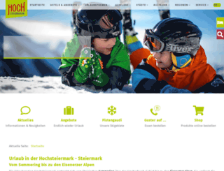 hochsteiermark.at screenshot