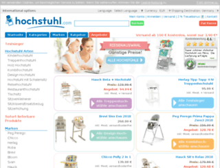 hochstuhl.com screenshot