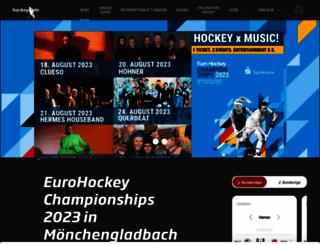 hockey.de screenshot