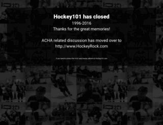 hockey101.com screenshot
