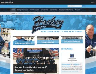 hockeyessentials.net screenshot