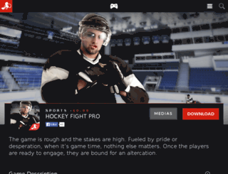 hockeyfightpro.com screenshot