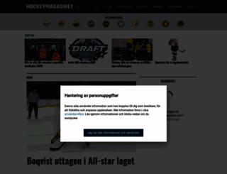 hockeymagasinet.com screenshot