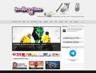 hockeytime.net screenshot
