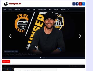 hockeyweb.de screenshot