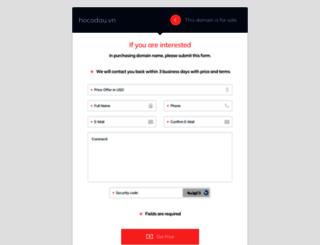 hocodau.vn screenshot