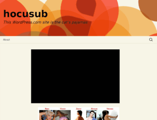 hocusub.wordpress.com screenshot