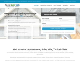 hocusvojweb.com screenshot