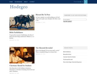hodegeo.org screenshot