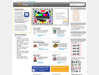 hoe-koop-ik.nl screenshot