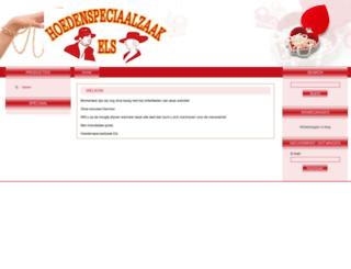 hoedenshop.nl screenshot