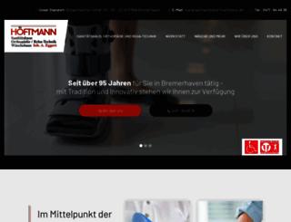 hoeftmann-sanitaetshaus.de screenshot