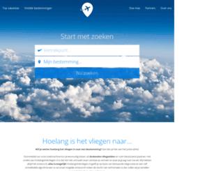 hoelangishetvliegen.nl screenshot