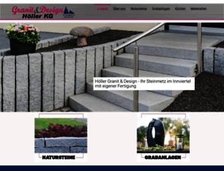 hoeller-granit.at screenshot