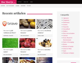 hoemoetje.com screenshot