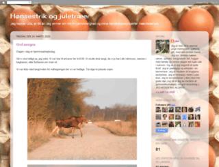 hoensestrikogjuletraeer.blogspot.nl screenshot