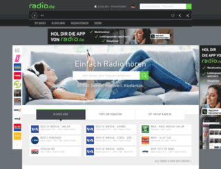 hoerbarium.radio.de screenshot