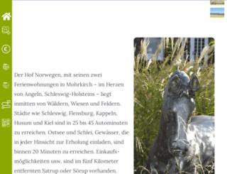 hof-norwegen.de screenshot