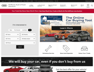 hoffmanaudi.com screenshot