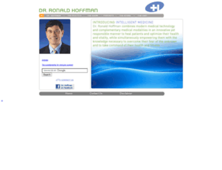 hoffmancenter.com screenshot